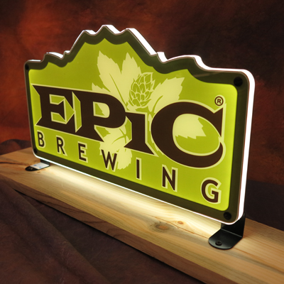 Epic Brewing Co LED Sign