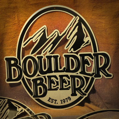 Boulder Beer Co Metal Sign