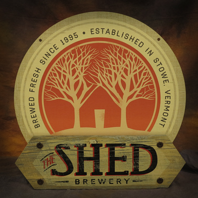Shed Brewery Non Illuminated Sign