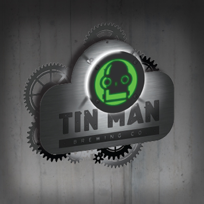 Tin Man Brewing Co LED Sign