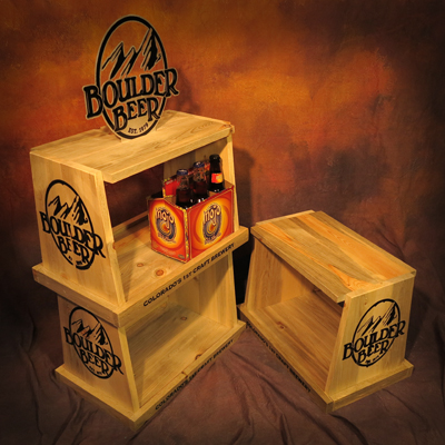 Boulder Beer Retail Display